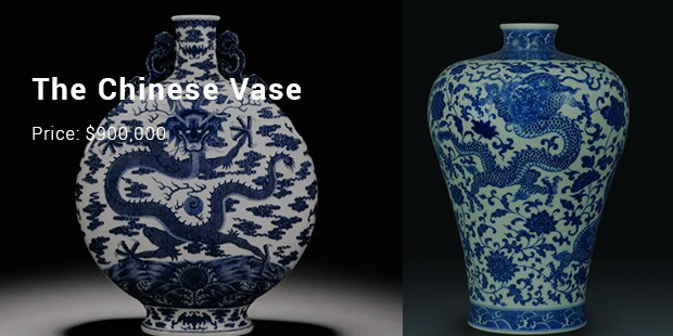 7 Most Expensive Priced Vases List Expensive Vases