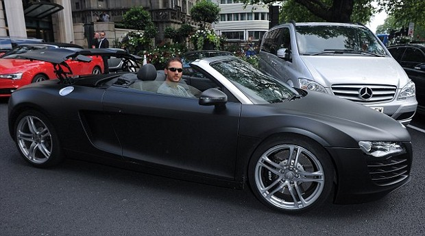 Tom Hardy Cars Collection Successstory