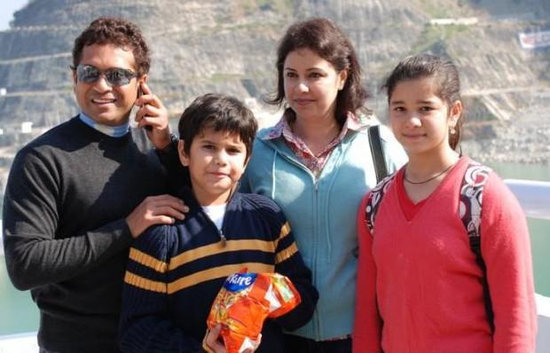 Sachin Tendulkar Family Parents Wife Children Brother