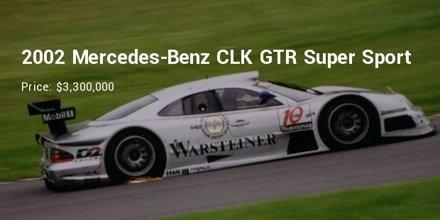 The Mercedes Benz CLK GTR Super Sport Variant Had The 7.3 Liter V12 Used In  The Pagani Zonda Which Resulted In A Total Power Output Of 720hp.