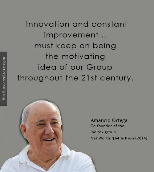 Innovation and constant
