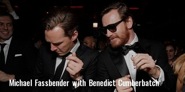 benedict cumberbatch  left  and michael fassbender