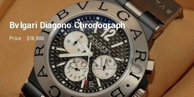 Bvlgari Diagono Chronograph