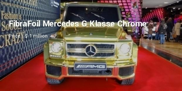 fibrafoil mercedes g klasse chrome