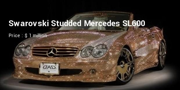 swarovski studded mercedes sl600