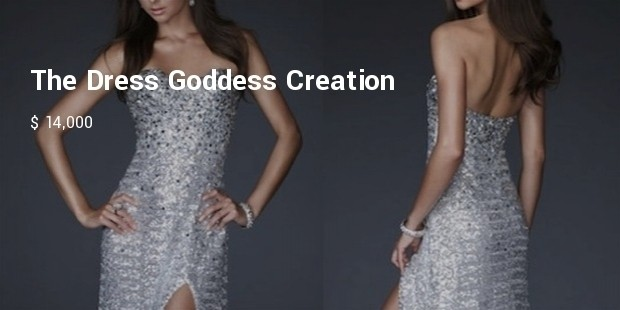 the dress goddess creation