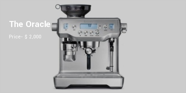 the oracle espresso machine