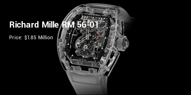 10 Most Expensive Richard Mille Watch Models Expenditure