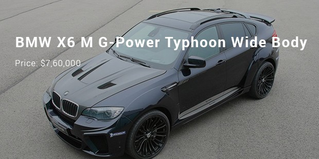 BMW X6 M G-Power Typhoon Wide Body