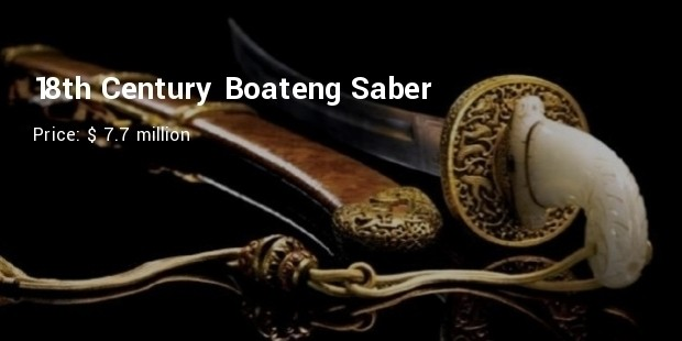 18th century boateng saber