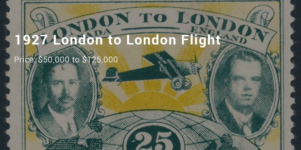 1927 london to london flight