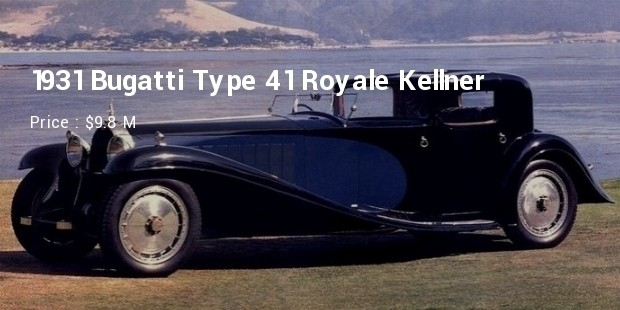 1931 Bugatti Type 41 Royale Kellner