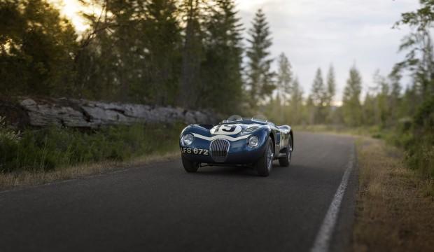 1953 jaguar c type lightweight roadster