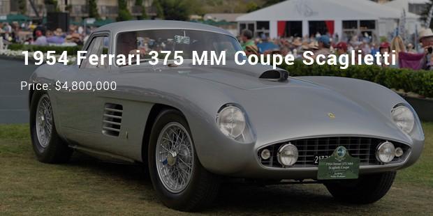 1954 ferrari 375 mm coupe scaglietti