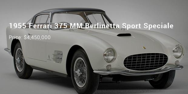 1955 ferrari 375 mm berlinetta sport speciale