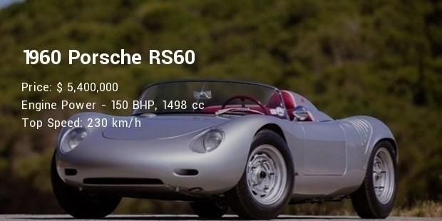 1960 porsche rs60 specs