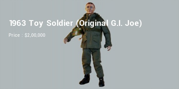 1963 toy soldier