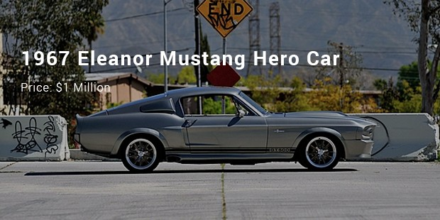 1967 eleanor mustang hero car