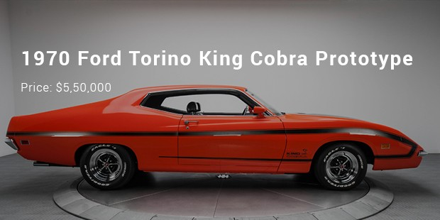 1970 ford torino king cobra prototype