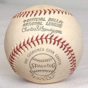 1970s spalding feeney baseball