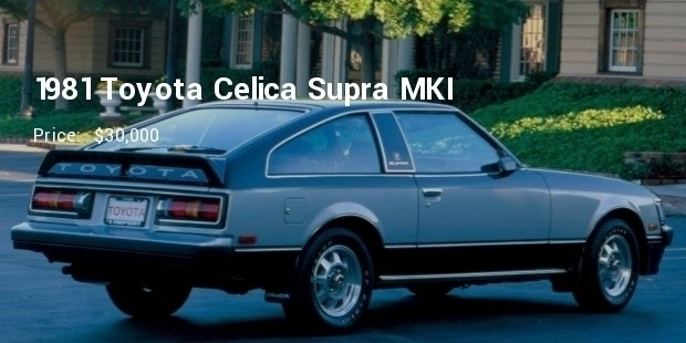 1981 toyota celica supra mki