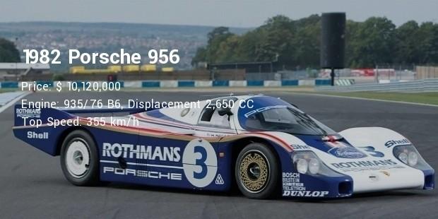 1982 porsche 956 specs