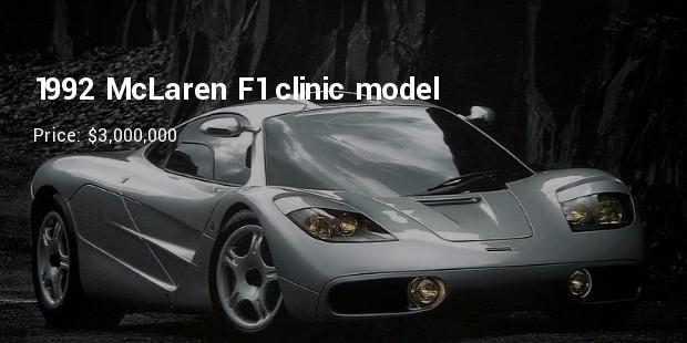 1992 mclaren f1 clinic model