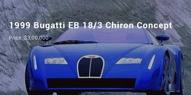 1999 bugatti eb 183 chiron concept
