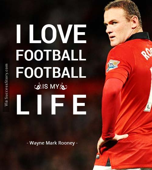 Player Quotes: I Love Football