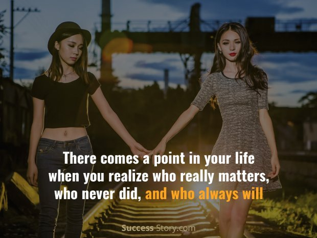 There comes a point in your life