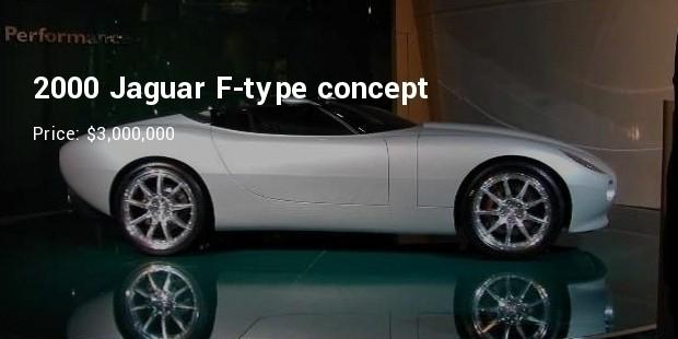 2000 jaguar f type concept   $3,000,000