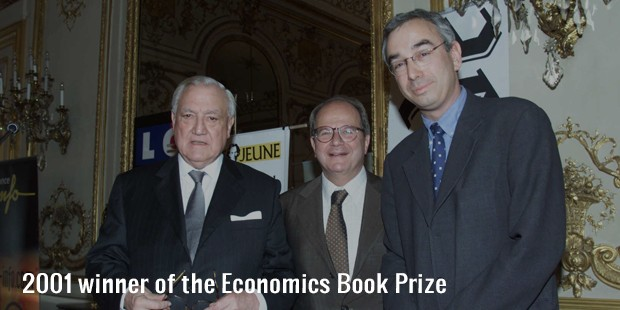 2001 winner of the economics book prize