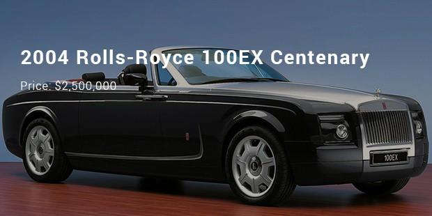 2004 rolls royce 100ex centenary