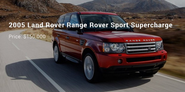 2005 land rover range rover sport supercharge