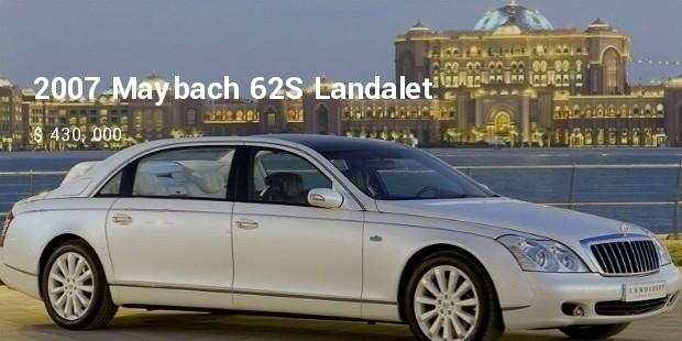 2007 maybach 62s landalet