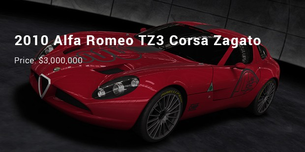 10 Most Expensive Priced Alfa Romeo Cars List Expensive Cars
