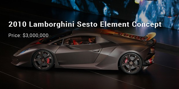 2010 lamborghini sesto element concept