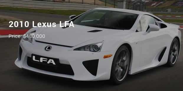 12 Most Expensive Priced Lexus Cars List Successstory