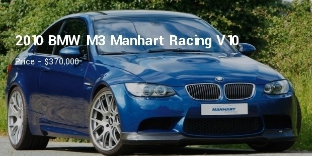 2010 BMW M3 Manhart Racing V10