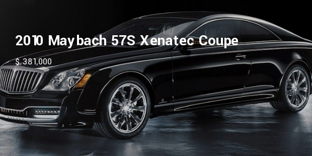 2010 maybach 57s xenatec coupe