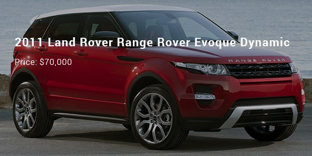 2011 land rover range rover evoque dynamic
