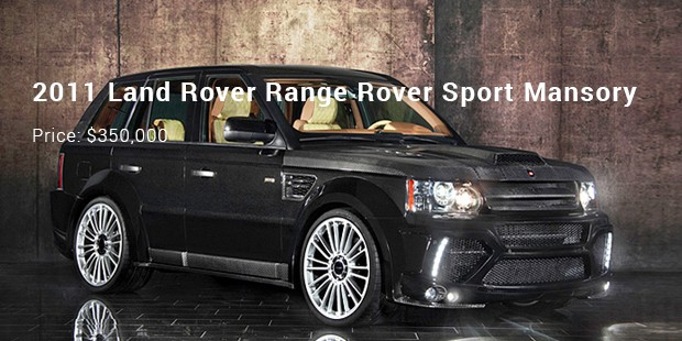 9 Most Expensive Priced Land Rover Cars List Expensive Cars