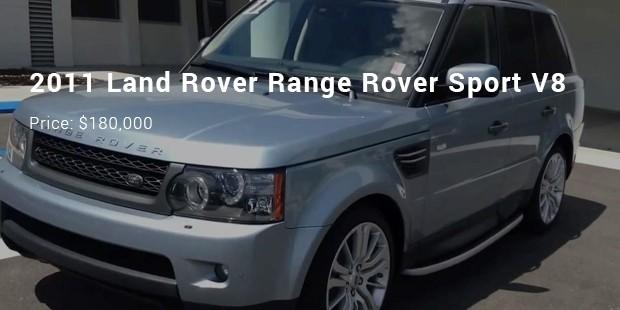 2011 land rover range rover sport v8
