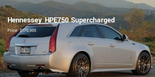 2011 cadillac cts v sport wagon hennessey hpe750 supercharged