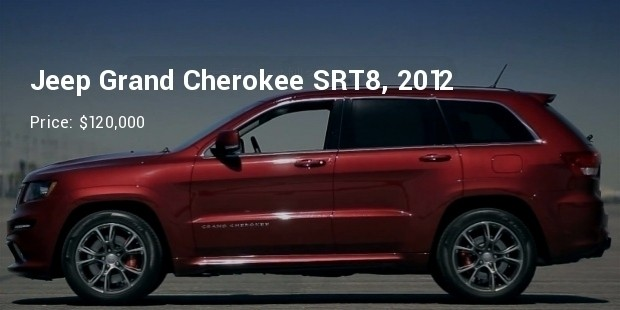 2012 jeep grand cherokee srt8 profile