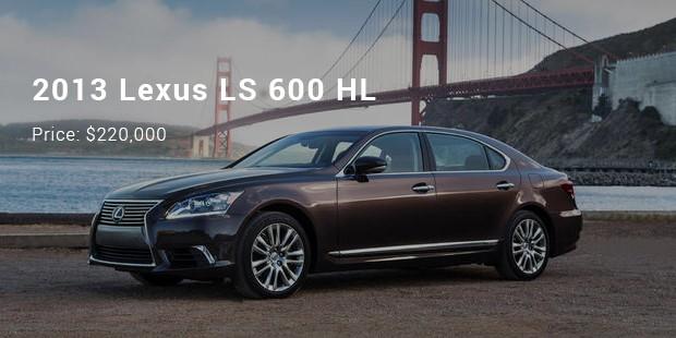 2013 lexus ls 600 hl