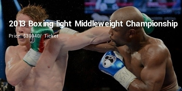 2013 boxing light middleweight championship