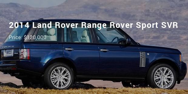 2014 land rover range rover sport svr