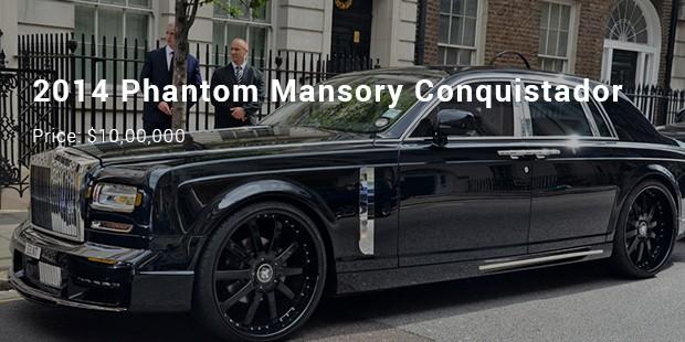 2014 phantom mansory conquistador