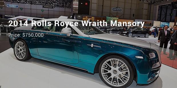 2014 rolls royce wraith mansory